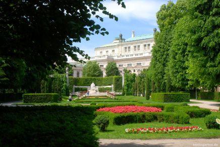 Sissi-Denkmal und Burgtheater - was für eine Kulisse!