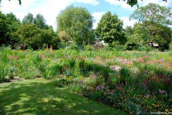 Trockenpflanzung in Oxford