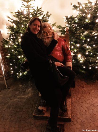 Weihnachtsmann und Xenia