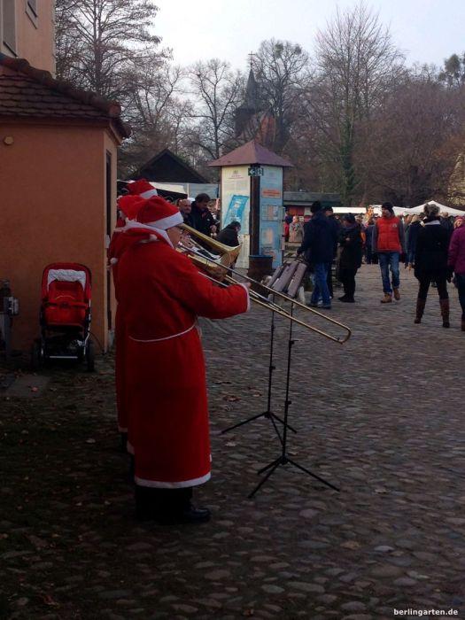 Der Weihnachtsmann kann Posaune