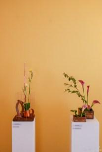 Zwei Sogetsu-Arrangements