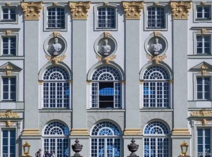 Barocke Fassade Nymphenburg