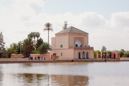 Pavillon Menara-Garten