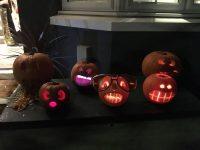 Vordergarten an Halloween in London
