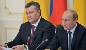 Встреча Владимира Путина с Виктором Януковичем