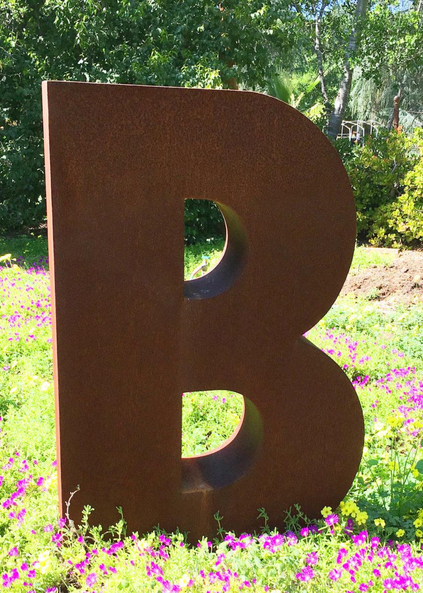 Just B