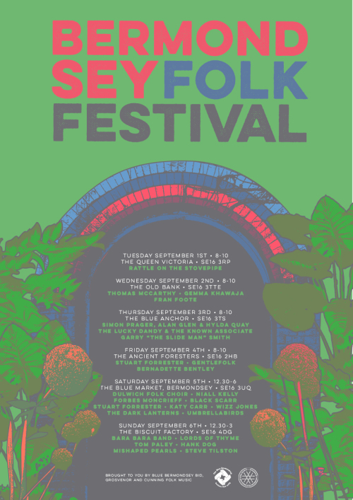 Bermondsey Folk Festival 2015