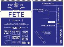 Bermondsey Folk Festival Fete 2016