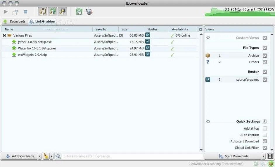 ▷ Descargar JDownloaderv2 0 0 2 , El mejor gestor de