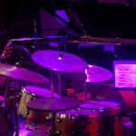 instruments in stage light