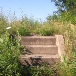 steps with no house