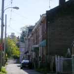 row of row houses