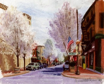 Pear Trees on Main Street