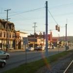 west main street carnegie in color