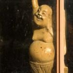 plastic buddha