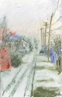 Snow in the Alley