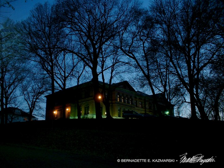 The Jewel on the Hill. A special photo I took by chance at dusk in 2005.