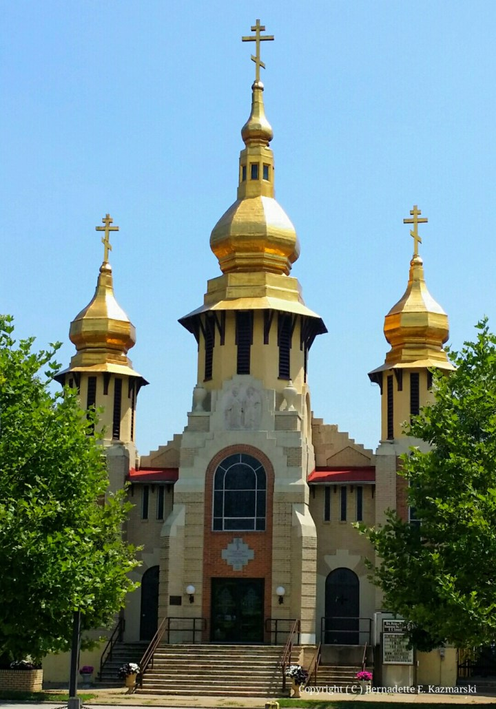 Sts. Peter & Paul Ukrainian Orthodox Church in Carnegie PA.