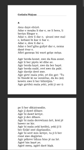ANDROİD KÜRTÇE ATASÖZLERİ/GOTİNÊN PÊŞİYAN