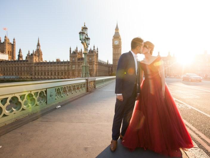 Alvin & Kristen in London