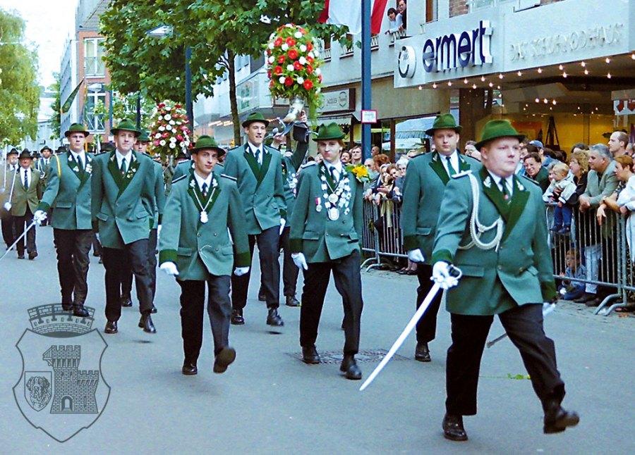 Die Kirmessonntag-Parade 2000.