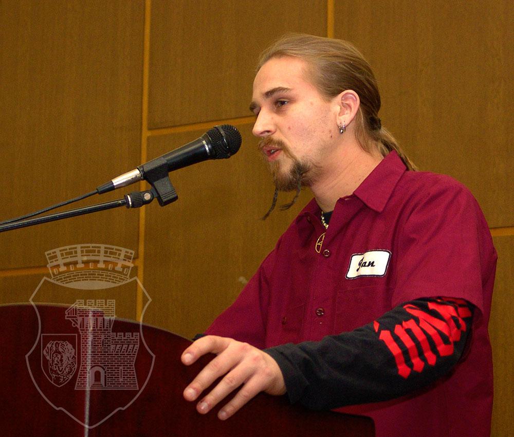 Jan Wosnitza bewarb sich auf einen Beisitzerposten im BSV-Vorstand.