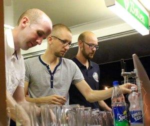 Das Bernardus-Theken-Team gab auch bei S.M. Dominik sein Bestes.