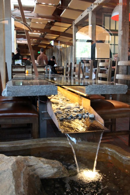 Party Waterfall Table – Stone Brewing World Bistro and Gardens Liberty Station