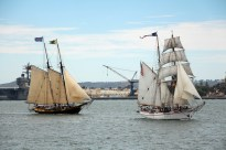 The Spirit and Exy - Festival of Sail