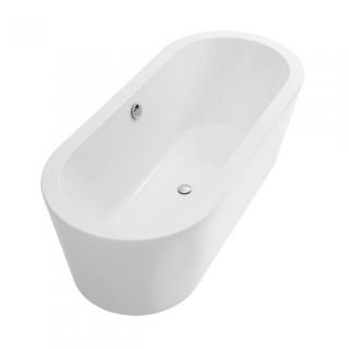 baignoire ilot urb y plus 180x80cm blanc sanindusa ref 8046000000