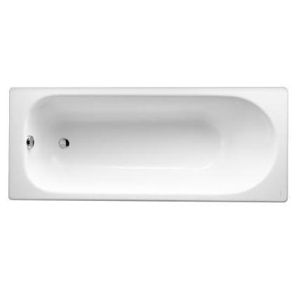 baignoire rectangulaire soissons 170 x 70 fonte emaillee blanc jacob delafon ref e2921 00