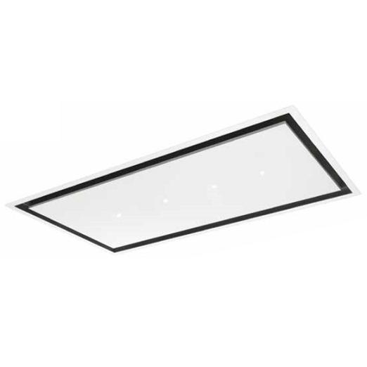 hotte de plafond aqua 120cm 605m3 h blanc roblin elite ref 6516006 3500539307