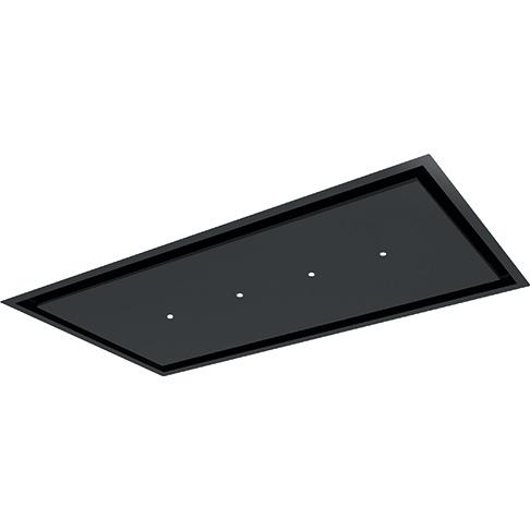 hotte de plafond aqua 120cm 605m3 h noir mat roblin ref 6820721 3500613649