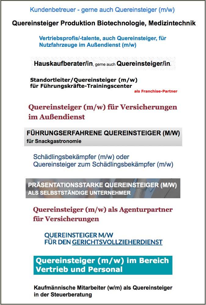 Quereinstieg Karriere Durch Die Seitentur Dr Bernd Slaghuis