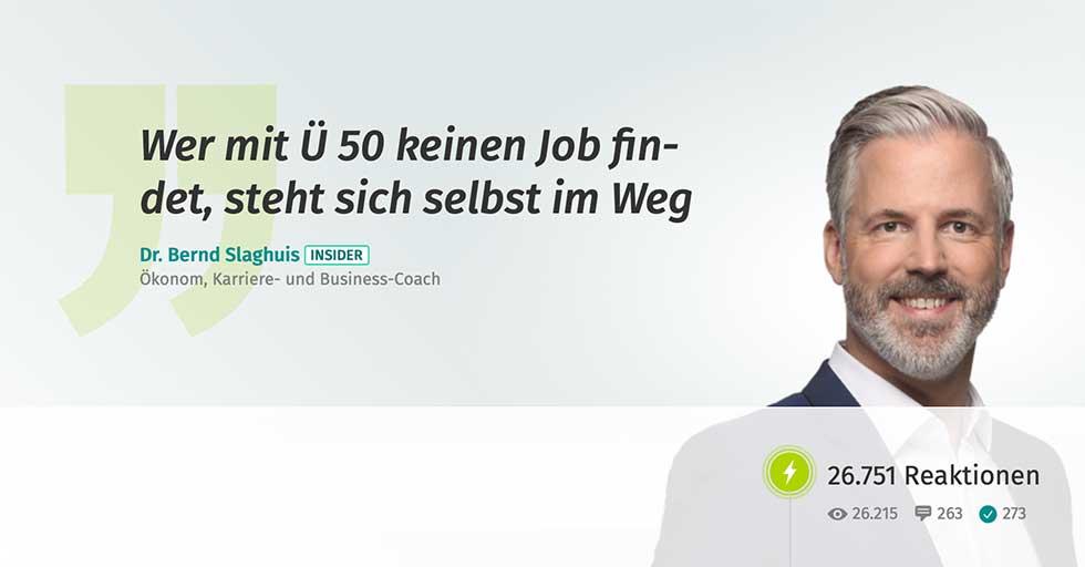 Jobwechsel Ü 50