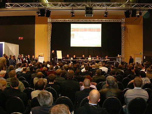 Live-Trading auf der World of Trading 2010