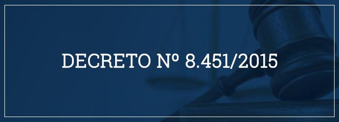 Decreto nº 8.451/2015 - Regulamenta o que se considera elevada oscilação de taxa de câmbio
