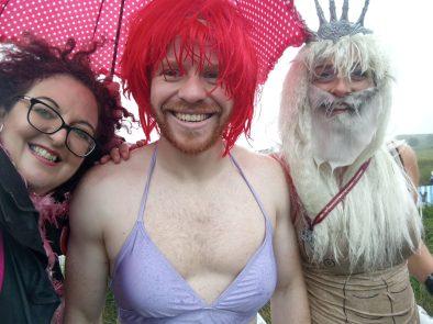 Ariel and Tritan of the Bog