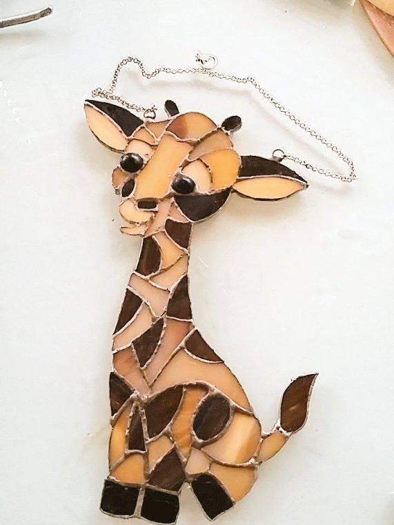 very special birthday gift for a giraffe lover