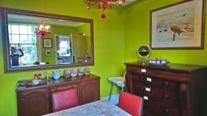 Guest breakfast room, dining room, cerdyn villa