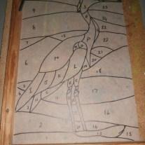 heron free standing panel