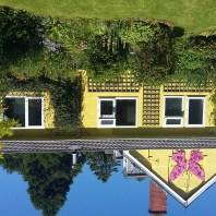 cerdyn villa, family annex from the garden