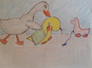 duck blankie