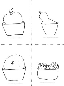 Duck fruit bw bms