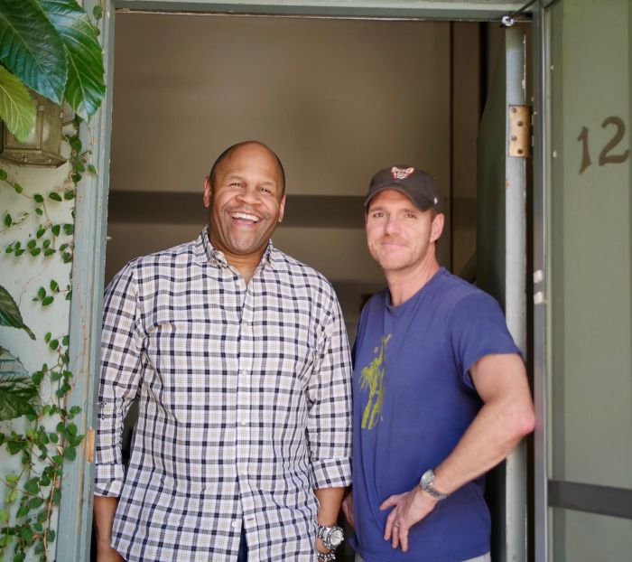 Rondell Sheridan stops by Bernie & AL's to chat Standup, sneakers & TV gigs