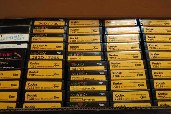 Film Retreat donated 16mm Film from Kodak