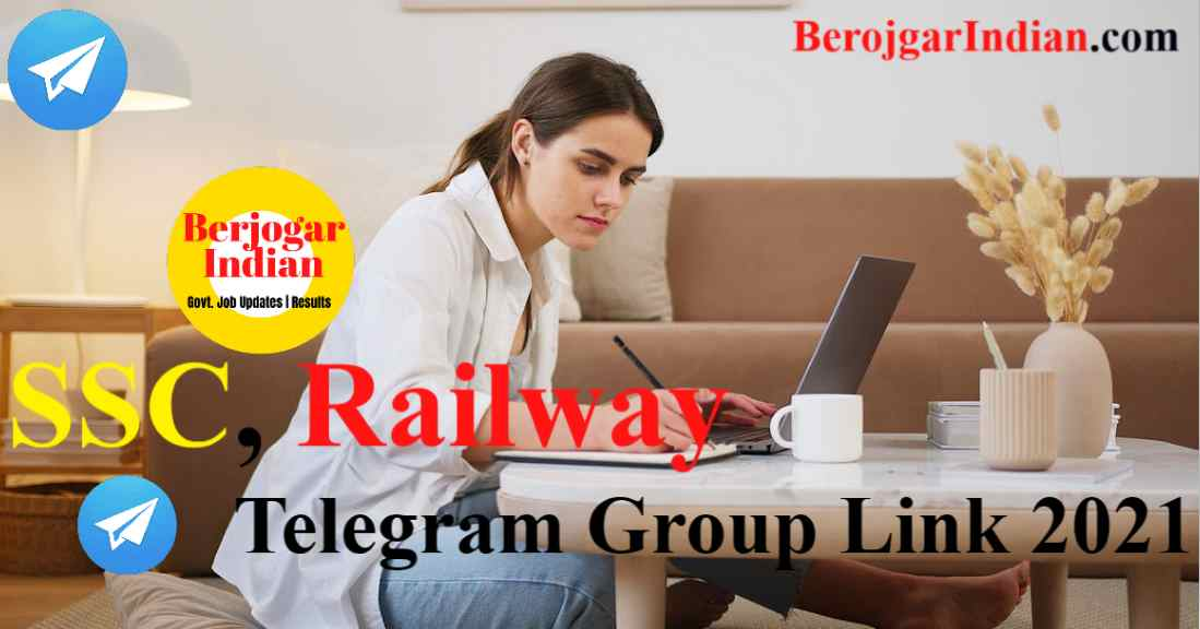 Latest SSC, Railway Telegram Group Link 2021 - Join Now