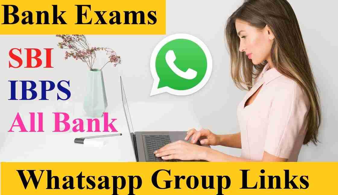 All Bank PO clerk Exam Job Preparation Whatsapp Group Link 2021 - Join