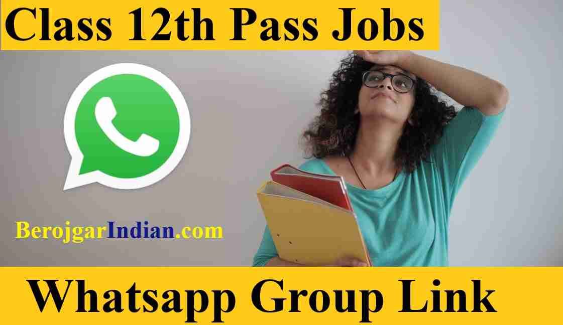 Class 12th pass Govt Private Bank job for Female Girl Students Whatsapp Group Link 2021
