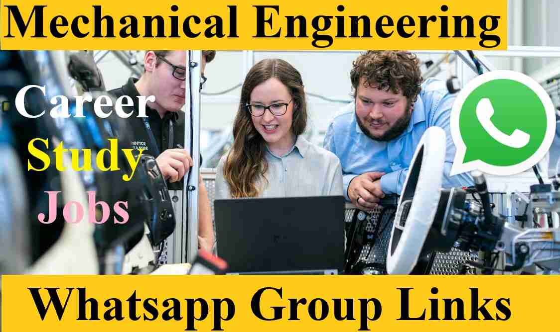 Join Best Gate Mechanical Engineering Jobs Autocad Whatsapp Groups Invite Link